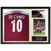 West Ham United Signerad Fotbollströja Paolo Di Canio