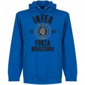 Inter Huvtröja Established Blå S