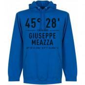 Inter Huvtröja Giuseppe Meazza Coordinates Blå S