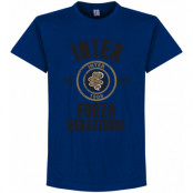 Inter T-shirt Established Blå S