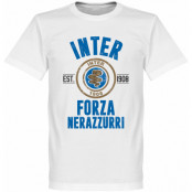 Inter T-shirt Established Forza Vit XS