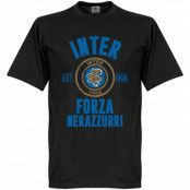 Inter T-shirt Established Svart XXL