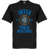 Inter T-shirt Established Svart XXXL