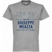 Inter T-shirt Giuseppe Meazza Coordinates Grå S