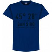 Inter T-shirt Home Coordinate Blå S