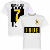 Juventus T-shirt Juve Ronaldo 7 Team Barn Cristiano Ronaldo Vit 2 år