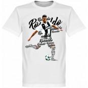 Juventus T-shirt Ronaldo Script Barn Cristiano Ronaldo Vit 2 år