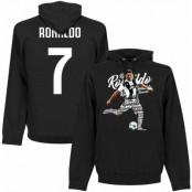 Juventus Huvtröja Ronaldo 7 Script Cristiano Ronaldo Svart S