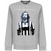 Juventus Tröja Juve Campioni Sweatshirt Grå S