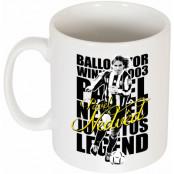 Juventus Mugg Pavel Nedved Legend Vit
