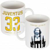 Juventus Mugg Pirlo Campioni DItalia 33 Andrea Pirlo Vit