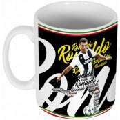 Juventus Mugg Ronaldo Script Cristiano Ronaldo Vit