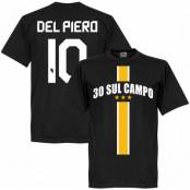 Juventus T-shirt 30 Sul Campo Del Piero Svart XS