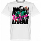 Juventus T-shirt Buffon Legend Gianluigi Buffon Vit XS