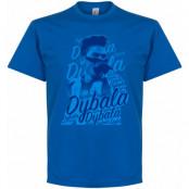 Juventus T-shirt Celebration Paulo Dybala Blå S