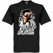 Juventus T-shirt Celebration Paulo Dybala Svart XXL
