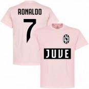 Juventus T-shirt Juve Ronaldo 7 Team Cristiano Ronaldo Rosa S