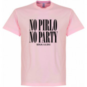 Juventus T-shirt No Pirlo No Party Berlin Final Andrea Pirlo Rosa S