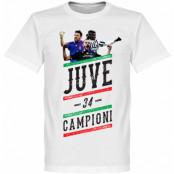 Juventus T-shirt Player Campioni 34 Vit XS