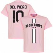 Juventus T-shirt Winners 30 Sul Campo Del Piero Alessandro Del Piero Rosa S