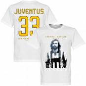 Juventus T-shirt Winners Campioni DItalia Pirlo Andrea Pirlo Vit XS