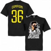 Juventus T-shirt Winners Dybala Campioni 36 Paulo Dybala Svart XS
