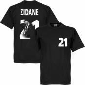 Juventus T-shirt Zidane Gallery Zinedine Zidane Svart XS