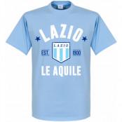 Lazio T-shirt Established Ljusblå XS