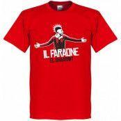 Milan T-shirt El Shaarawy Milan Football Stephan El Shaarawy Röd M