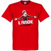 Milan T-shirt El Shaarawy Milan Football Stephan El Shaarawy Röd XS