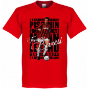Milan T-shirt Legend Franco Baresi Legend Röd XS