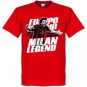 Milan T-shirt Legend Inzaghi Legend Röd XL