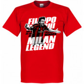 Milan T-shirt Legend Inzaghi Legend Röd XS