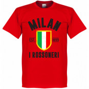 Milan T-shirt Milan Established Röd XS