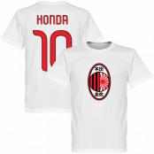 Milan T-shirt Milan Honda Keisuke Honda Vit XS
