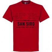 Milan T-shirt Milan San Siro Home Coordinate Röd S