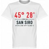 Milan T-shirt Milan San Siro Home Coordinate Vit XS