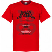 Milan T-shirt Milan Trophy Collection Röd XS