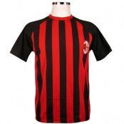 Milan T-shirt Randig Röd-svart L