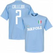 Napoli T-shirt Callejon Ljusblå XS