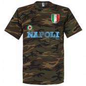 Napoli T-shirt Camo Svart S