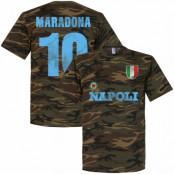Napoli T-shirt Diego Maradona Svart S