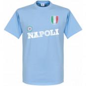 Napoli T-shirt Ljusblå XS