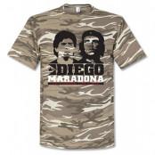 Napoli T-shirt Maradona Camo Diego Maradona Grön S
