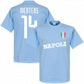 Napoli T-shirt Mertens Ljusblå XS