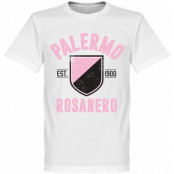 Palermo T-shirt Established Vit XS